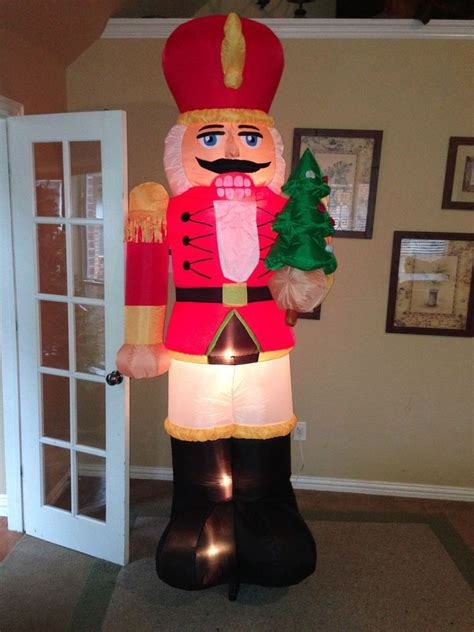 gemmy prototype christmas nutcracker inflatable airblown