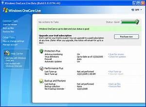 Windows OneCare Live Beta Preview