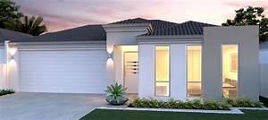 Beach Style Contemporary Two Storeys Home Design Ideas