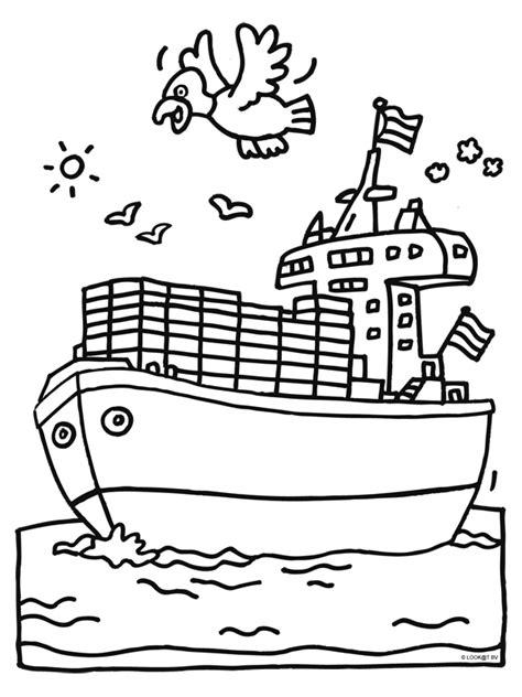 Schip Kleurplaat by Kleurplaat Cruise Schip Kleurplaten Nl