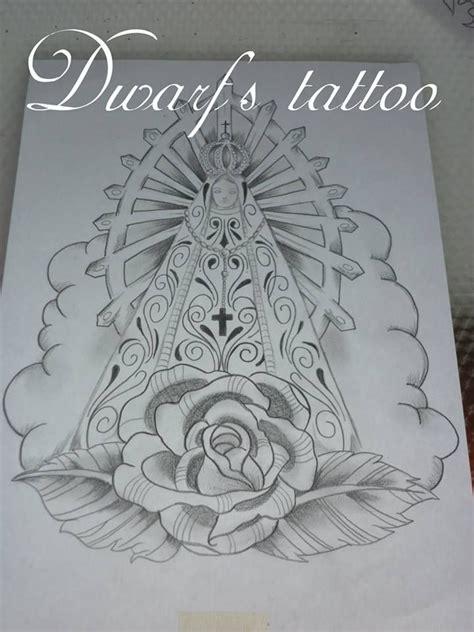 Diseño de la Virgen de Lujan Diseños de tattoo Pinterest