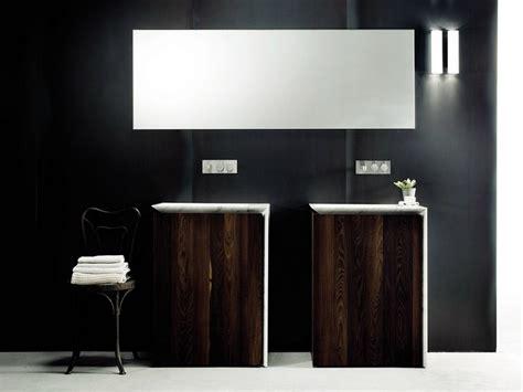 meuble de salle de bain en bois avec vasque int 233 gr 233 e