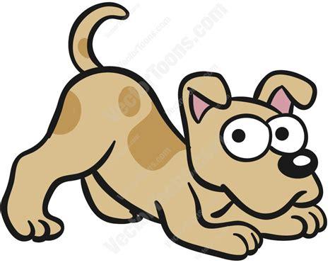 Brown Cartoon Dog Vector
