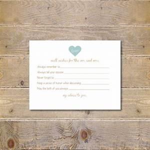 printable advice cards bridal shower advice cards bridal With bridal shower advice cards template