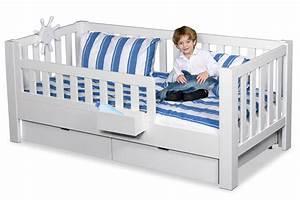 Kinderbett Ab 2 : wei lackiertes kinderbett buche mit 2 schubladen kinderzimmer ~ Whattoseeinmadrid.com Haus und Dekorationen