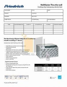 Download Free Pdf For Friedrich Wallmaster Wy10b33c Air