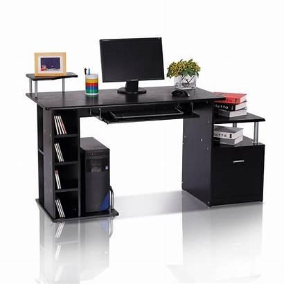 Desk Computer Homcom Workstation Pc Office Table