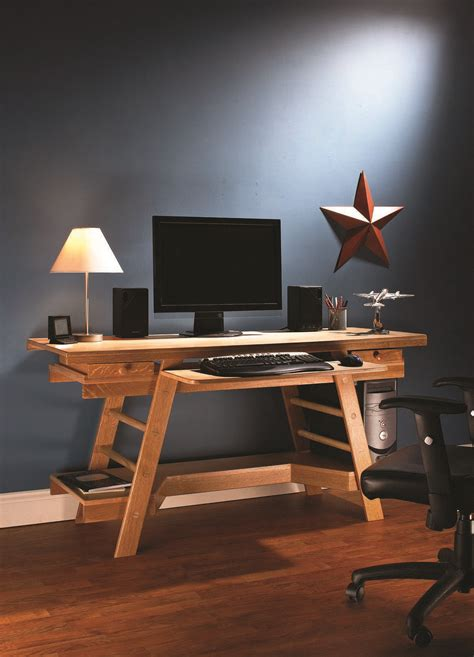 build  desk    popular woodworking
