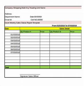 33 weekly activity report templates pdf doc free With weekly flash report template