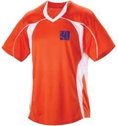 Teamwork 1637 Adult Header Soccer Jersey - Orange White