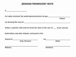 true help free legal forms With promissory note template canada