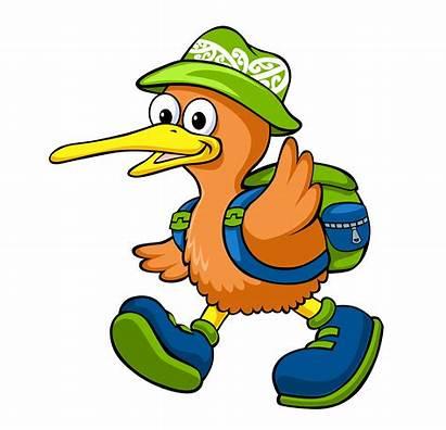 Clipart Bird Nz Kiwi Transparent Kindergarten Waikato