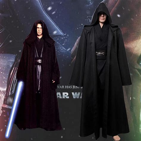 robe de chambre jedi darth vader terry jedi black robe wars jedi