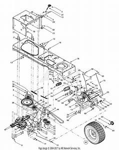 Troy Bilt 13ay609h063  2001  Parts Diagram For Drive