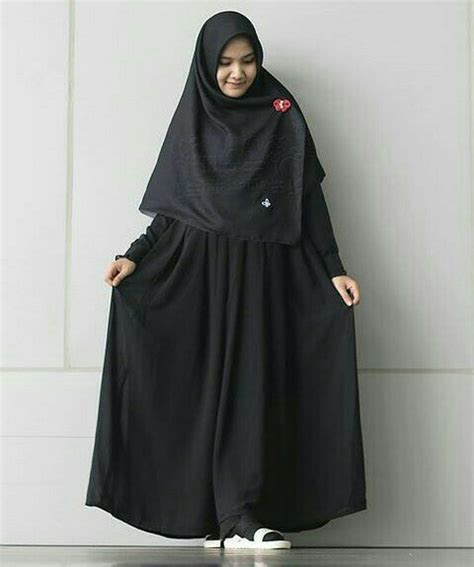 jual beli gamis hari hitam hijab alila  jual bukalapakcom