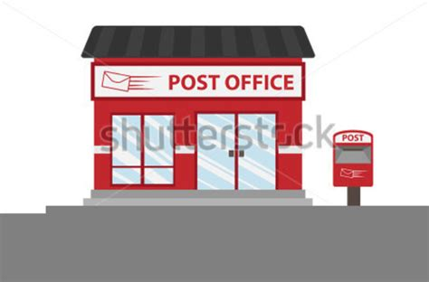 Post Office Clipart Clipart Post Office Building Free Images At Clker