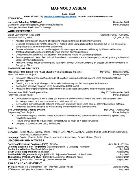 resume  fresh graduate bsba