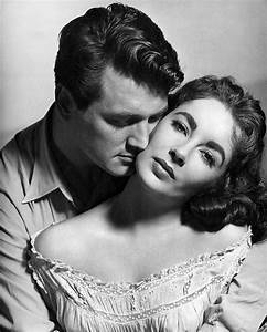 giant. movie. 50s. classic. rock hudson. black and white ...