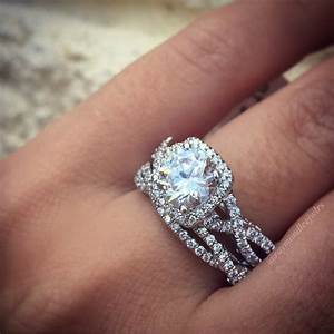 meet the most popular engagement ring on pinterest With most popular wedding rings