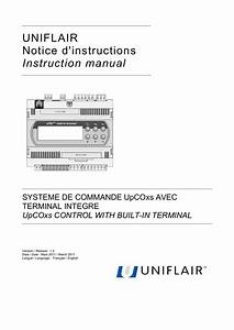 Uniflair Notice D U0026 39 Instructions Instruction Manual Systeme