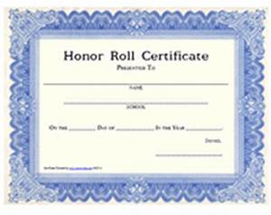 honor roll certificate template recommendation letter With a b honor roll certificate template