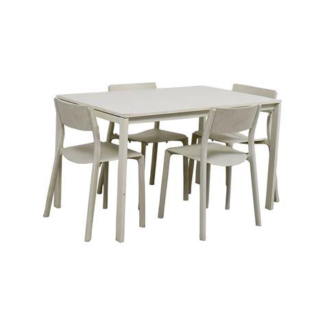 ikea kitchen table and chairs 65 off ikea ikea white kitchen table and chairs tables