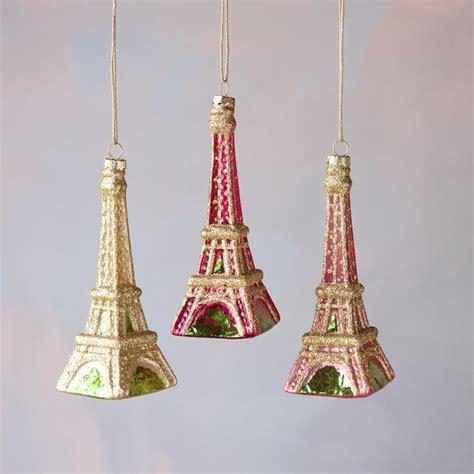 cut crystal eiffel tower xmas ornament products page 2 glitterville shop