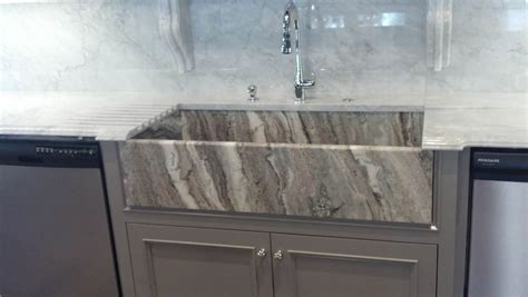 apron front sink kitchens miami circle marble fabrication