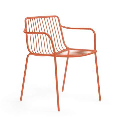 chaise d extérieur nolita p chaise dotée d 39 accoudoirs pedrali en métal