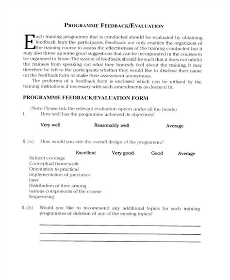 Top Resume Free Evaluation by Orientation Feedback Form Figure 1 The Media Companys Plan Containing Induction