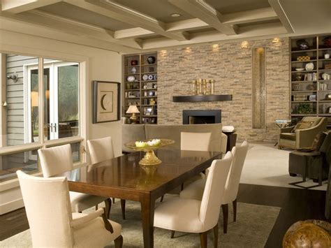 Formal Living Room Accent Wall by Eldorado Accent Walls Alderwood Stacked