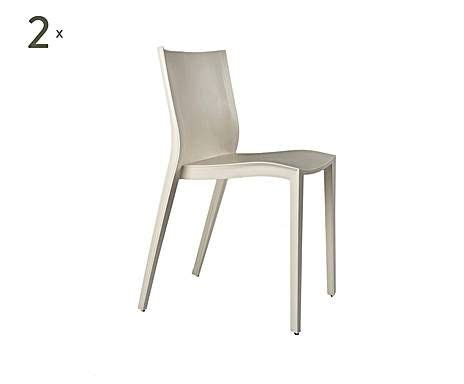 chaise philippe starck xo design by philippe starck 2 chaises slick slick