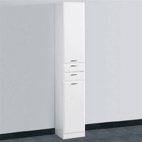 tall white bathroom cabinet uk images