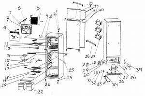 Refrigerator Diagram  U0026 Parts List For Model Mcbr1020w