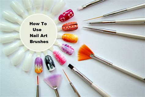 How To Use Nail Art Brushes?