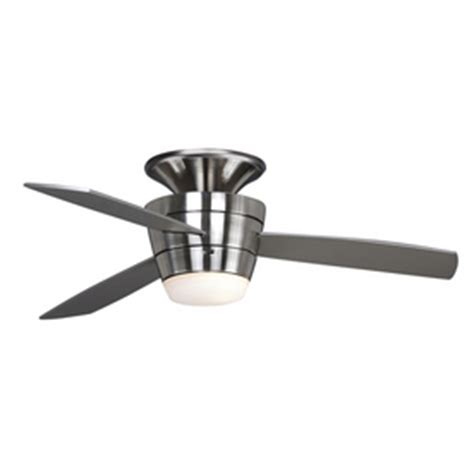 Allen Roth Ceiling Fan Troubleshooting by Shop Allen Roth 44 Quot Mazon Brushed Steel Ceiling Fan At