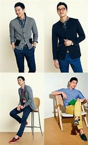Gong Yoo in clothes for brand Mind Bridge