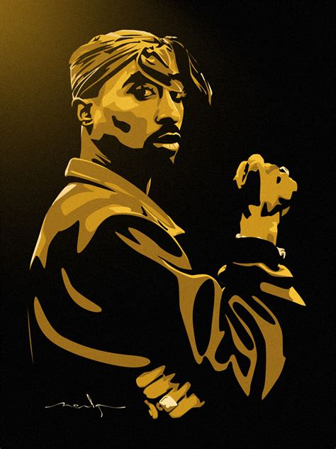Tupac Vector By Meakone On Deviantart