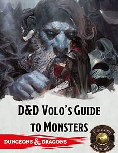 D U0026d 5e Volos Guide To Monsters Pdf  U0026gt  Dobraemerytura Org