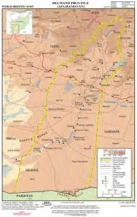 Helmand Province Afghanistan Map
