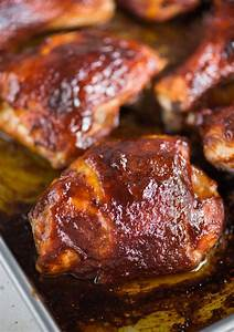 bbq chicken in oven in 3 easy steps the flavours of kitchen