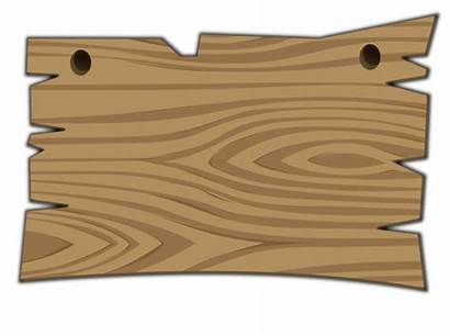 Wooden Sign Clipart Clip Vector Wood Mask