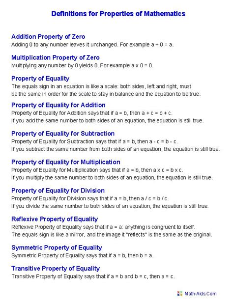 17 best images about math properties on pinterest 3rd