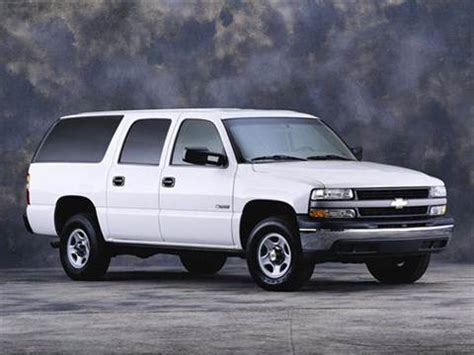 2001 Chevrolet Suburban 1500  Pricing, Ratings & Reviews