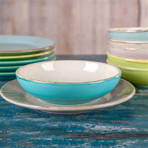 Italienische Keramik Von Grün & Form Suppenteller In 4