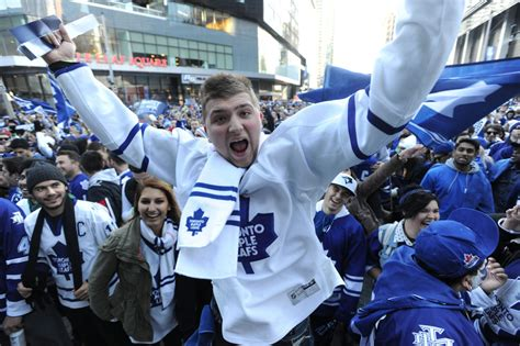 toronto maple leafs increased police presence downtown  game   star