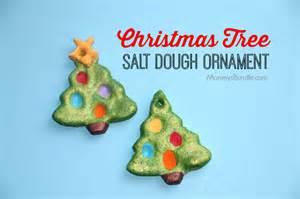 christmas tree salt dough ornament mommy s bundle