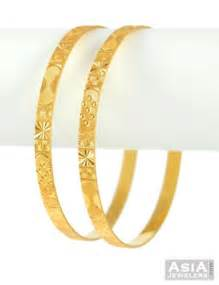 plain gold wedding bands bangles with beautiful design ajba51786 22k gold fancy