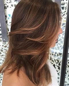 Balayage Miel Sur Cheveux Chatain Clair : balayage cheveux chatain lisse ~ Dode.kayakingforconservation.com Idées de Décoration