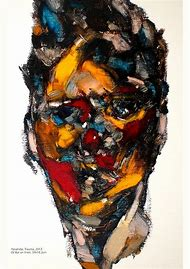 Abstract Portrait Art Painting